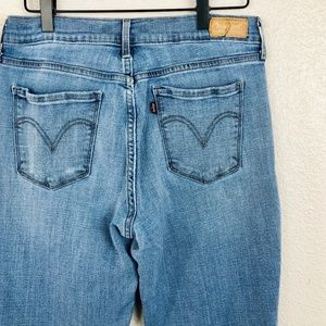 Vintage Levi's 505 High Waisted Straight Leg